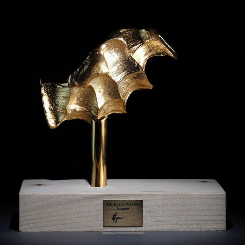 Tire-Bouchon Empreinte bronze doré par Audiard